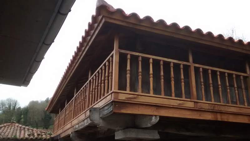 Restauración de horreos