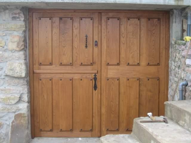 Carpinteria Los Lodos -  Puertas de cuarterón - Carpintería Los Lodos